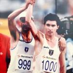 Olimpiadi Barcellona 92 - Dopo l'arrivo con Damilano
