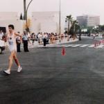 Olimpiadi Barcellona 92 - Salita al Montjuic